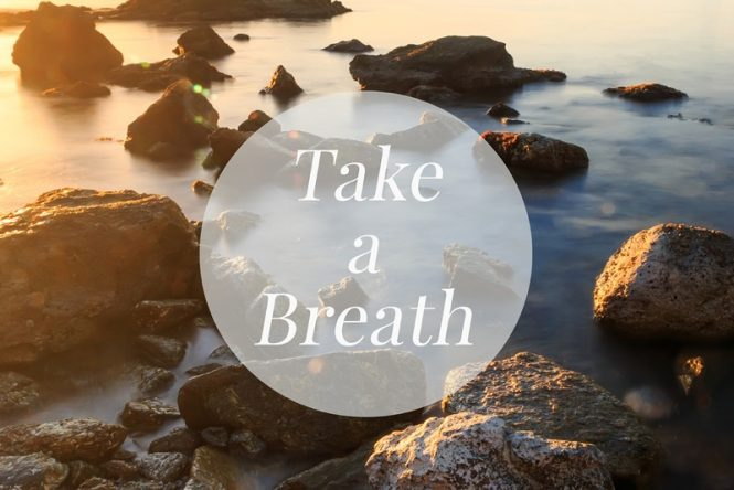 How to destress and start proper breathing exercises.